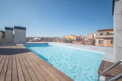 New apartment complex in the center of Barcelona near Sagrada Familia masterpiece